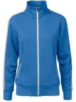 Bluza Cardigan damska z pasem kontrastowym