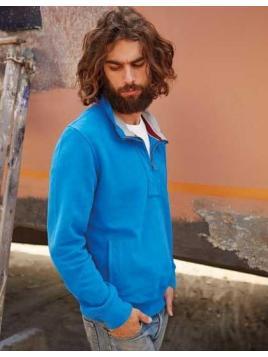 Men´s Zip Neck Sweatshirt Vintage