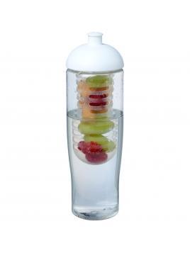 Bidon H2O Tempo® o pojemności 700 ml z wypukłym wieczkiem z możliwością przyrządzania wody smakowej