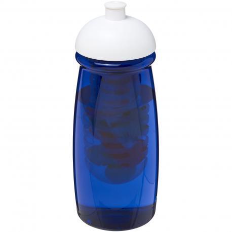 Bidon H2O Pulse o pojemności 600 ml z wypukłym wieczkiem z możliwościąprzyrządzania wody smakowej
