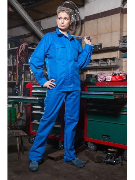 Ubranie kwaso-zasadoochronne, niepalne, antyelektrostatyczne chroniące przed ochlapaniem studnia i olejami Wzór 010 MG