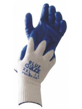 Rękawice powlekane gumą Blue Glaze