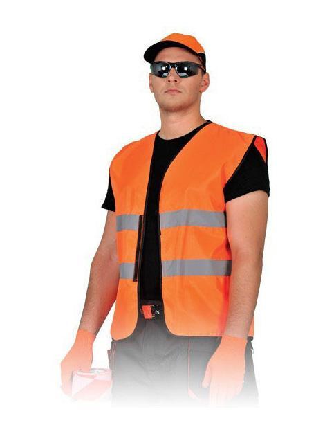 Kamizelka ostrzegawcza pomarańczowa