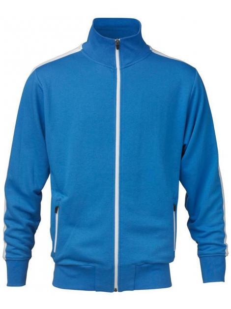 Sweter męska Bluza z kontrastowym pasem