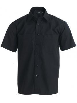 Koszula kawiarnia z krótkim rękawem