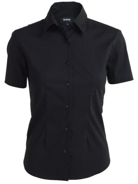 Koszula damska Stretch z krótkimi rękawami