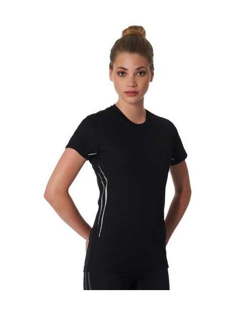 Damen Kurzarm Sport-T-Shirt
