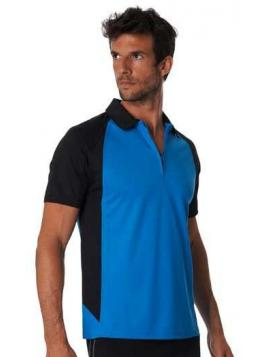 Bi-Colour Polo Shirt Short Sleeve