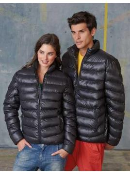 Ladies Glossy Padded Jacket