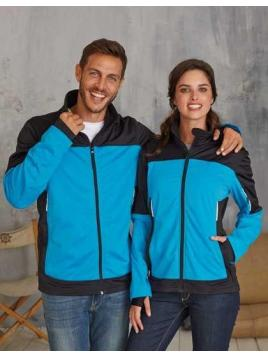 Ladies Bicolor Softshell Jacket