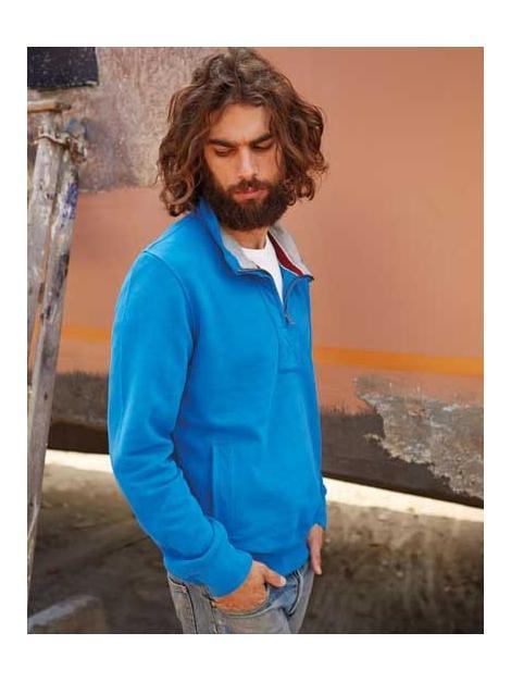 Men´s Zip szyję bluza Vintage