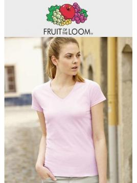 Fruit Lady Valueweight V-Neck