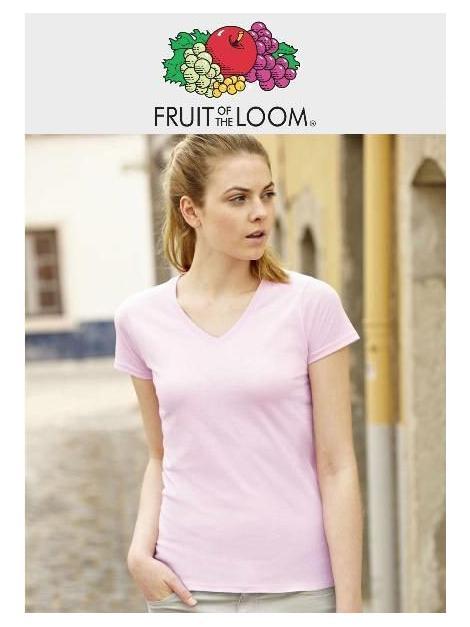 Owoce pani koszulka Valueweight V-Neck