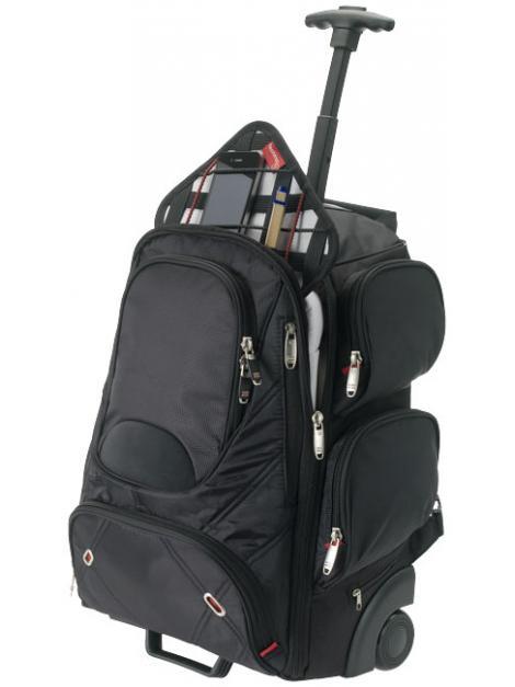 Plecak na kółkach Proton Checkpoint-Friendly na laptop 17