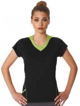 Ladies Bicolour Sports T-Shirt