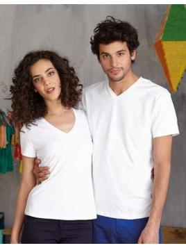 Electra Damen T-Shirt mit V-Ausschnitt