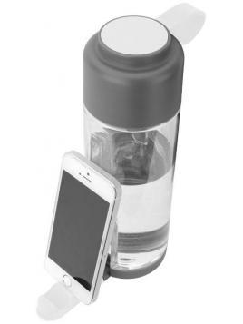 Butelka ze stojakiem na telefon Techno