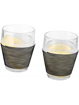 Zestaw dwóch szklanek termoizolacyjnych Timo