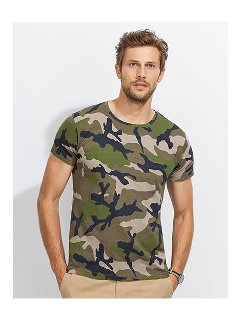 Koszulka męska moro Camo