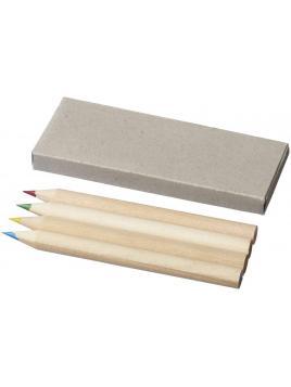 4-elementowy zestaw kredek