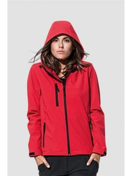 Stedman Active Softest Shell Hooded Women
